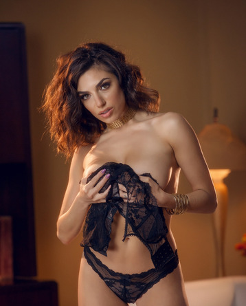 Alluring Black Lace