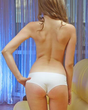 Cute Kessie Takes Off Her Panties
