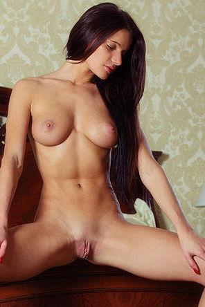 Busty Teen In Her Bedroom