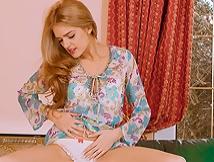 Lucy Blackburn in panties