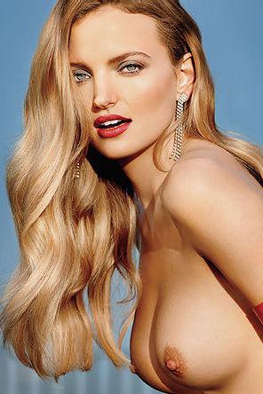 Beauty Blonde Playboy Playmate Amanda Booth