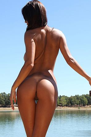 Ela In White Panties