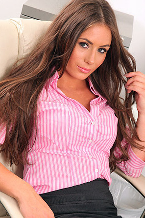 Hot Secretary Laura Hollyman