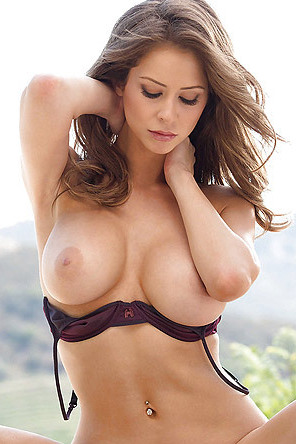 Emily Addison In Sexy Bra And Panties