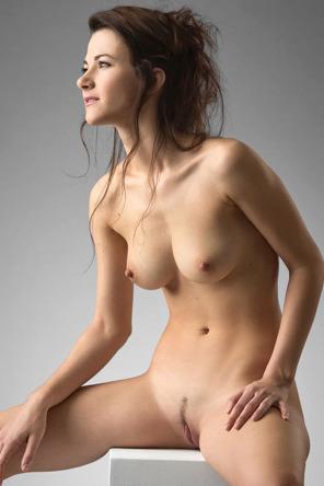 Lauren Crist Naked In The Studio