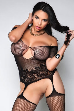 Busty Latina Missy Martinez In Sexy Black Lace