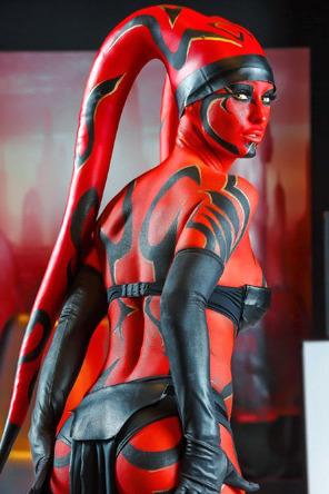 Erotic Jedi Knight Kleio Valentien Strips